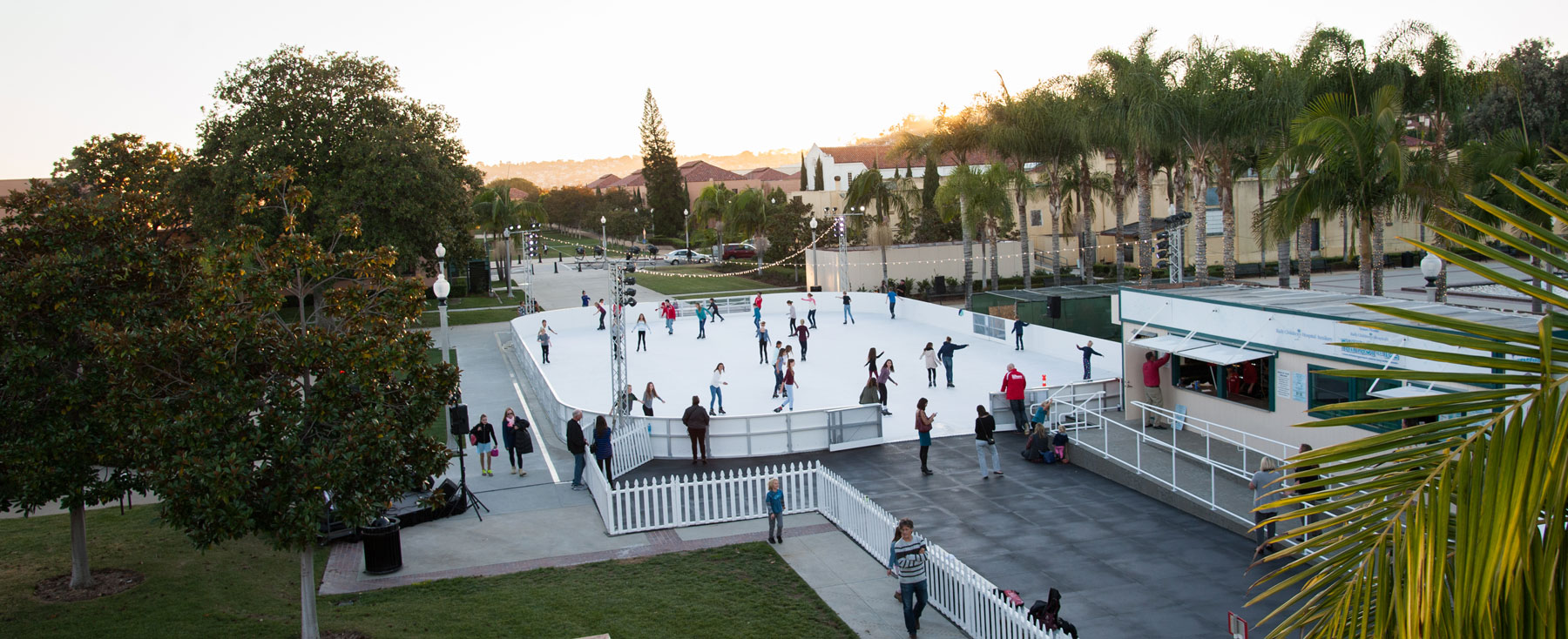 san diego outdoor ice skating rinks yes they do exist