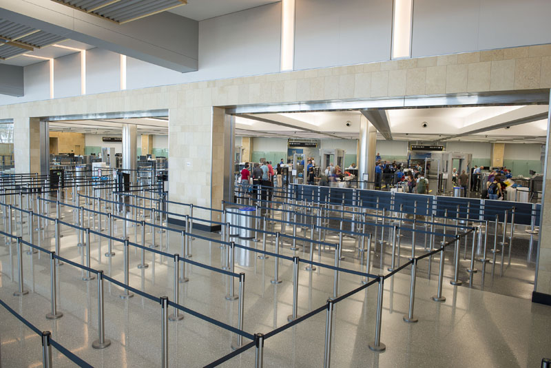 San Diego Airport Terminal 2 Offers State Of The Art Amenities