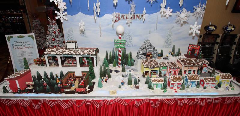Barona's North Pole Gingerbread Village