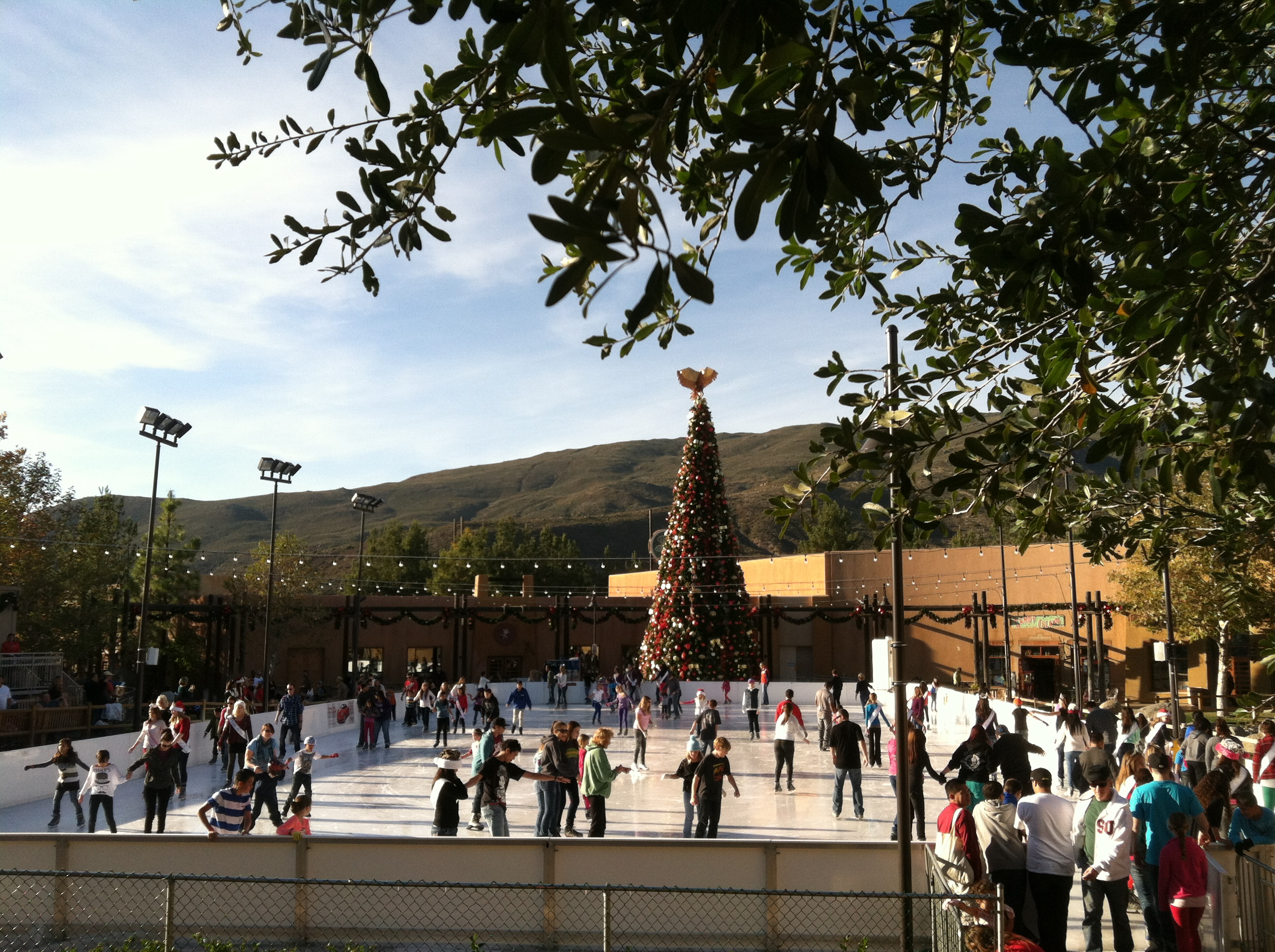 Viejas Outlet Center Ice Skating
