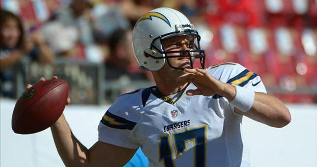 Chargers' Quarterback Philip Rivers