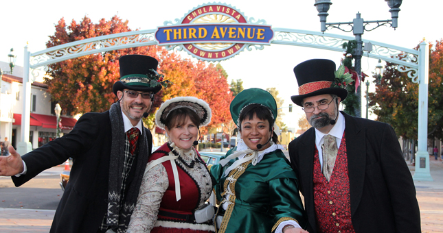 Holiday in the Village Carolers - Top Things to Do in San Diego