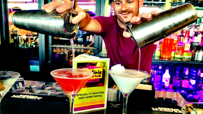 Mix it up at Martinis Above Fourth
