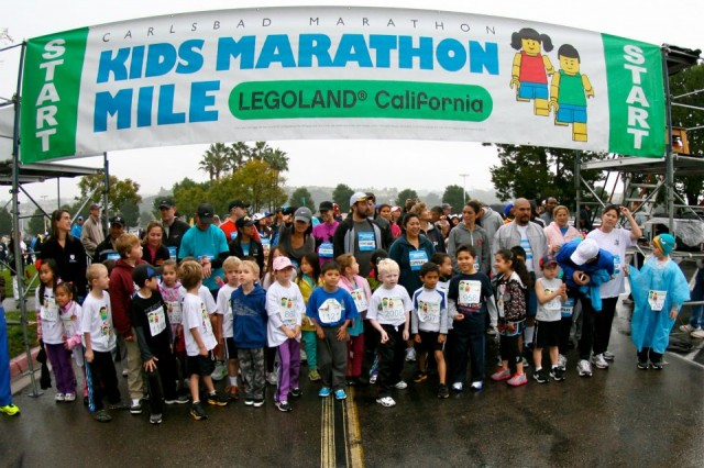Kids Marathon Mile at LEGOLAND California