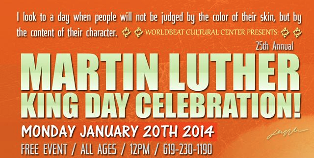 Worldbeat Center Martin Luther King Jr. Day Celebration