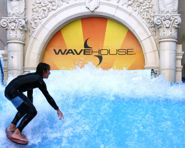 Surfer - Wave House San Diego