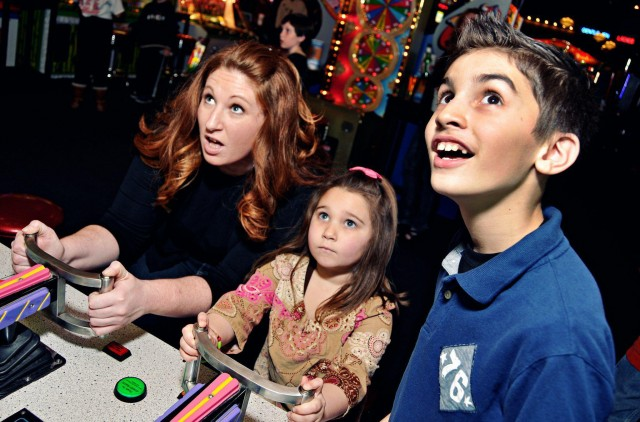 Family Friendly Fun at Dave & Busters