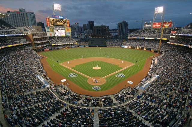 Padres Home Opener - Courtesy Petco Park