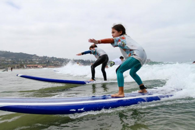 Surf Diva Surf Lessons for Kids
