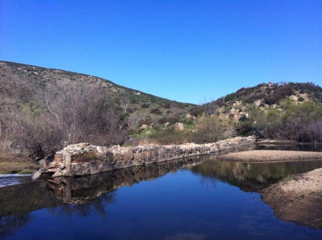 Old Mission Dam - Mission Trails Regional Park