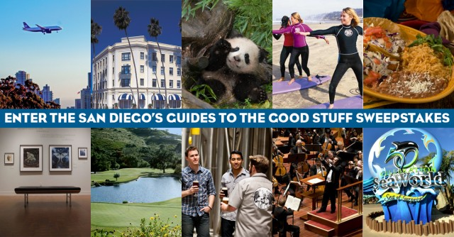 San Diego's Guides to the Good Stuff Sweepstakes