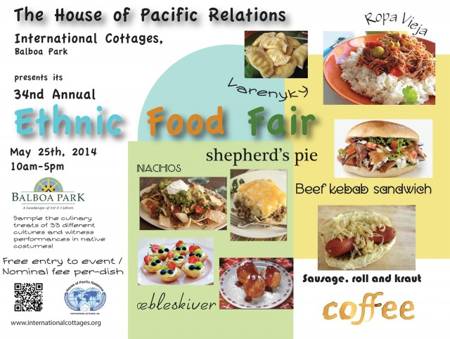 House of Pacific Relations 2014 Ethnic Food Festival
