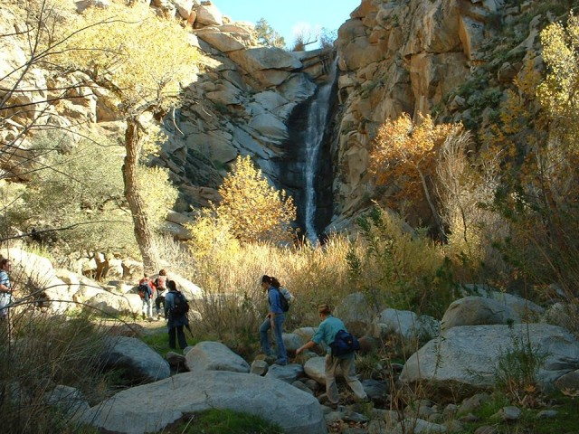 Waterfall along the San Diego River