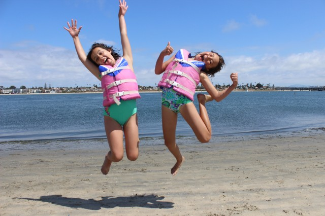 Kid campers at the Watersports Camp on Mission Bay enjoy activities from sailing to surfing and more.