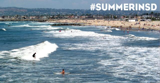 Ocean Beach Surfers - Summer In San Diego