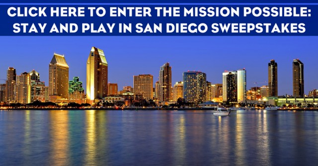 Mission Possible: Stay and Play in San Diego Sweepstakes