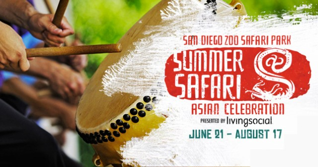 San Diego Zoo Safari Park's Summer Safari Asian Celebration