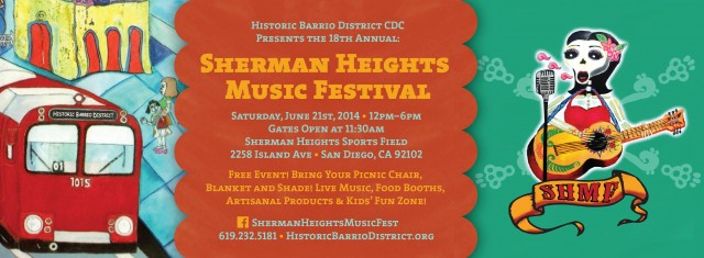 2014 Sherman Heights Music Festival