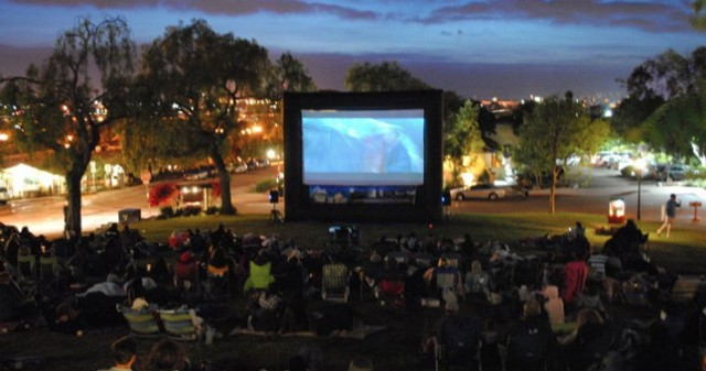 Outdoor Summer Movies in San Diego