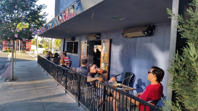 Bluefoot Bar and Lounge is the neighborhood hangout on the corner of 30th and Upas in North Park San Diego.