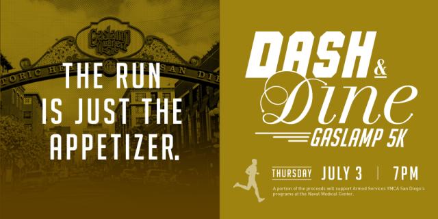 Dash & Dine Gaslamp 5K