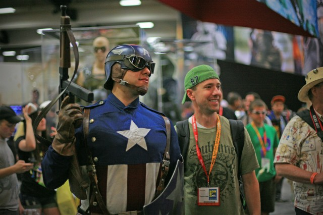 Captain America - San Diego Comic-Con International - Top Things to Do
