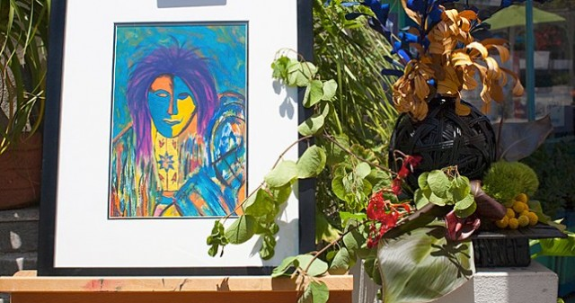 Art in Bloom at the Spanish Village Art Center