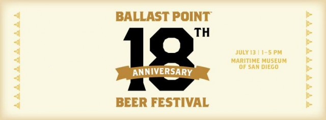 Ballast Point 18th Anniversary Beer Festival