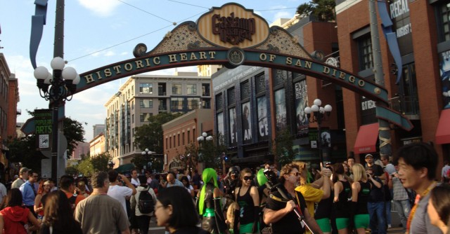 Comic-Con in the Gaslamp Quarter