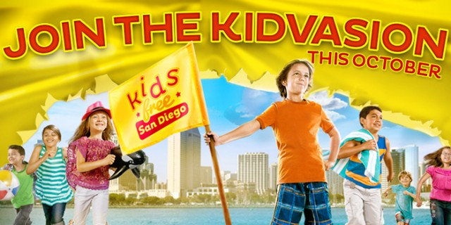 Kids Free in San Diego This October