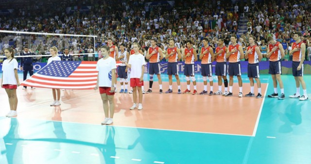 USA Volleyball Cup vs. Iran