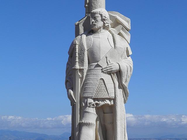 Impressive statue of Cabrillo at Cabrillo National Monument