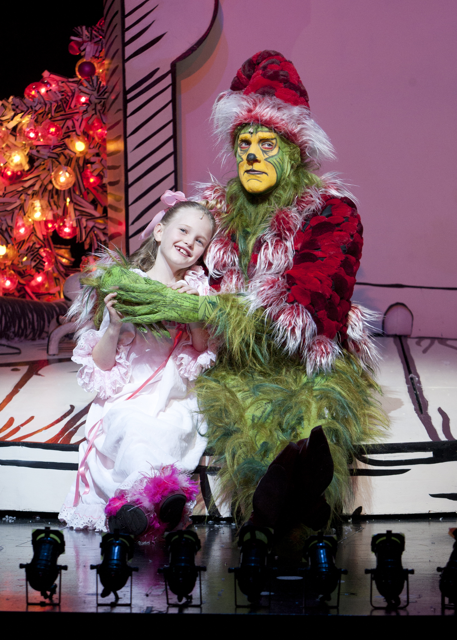 """Dr. Seuss' How the Grinch Stole Christmas!"" at the Old Globe in Balboa Park"