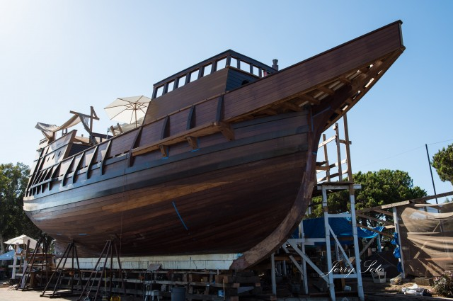 Replica of Cabrillo's flagship, the San Salvador