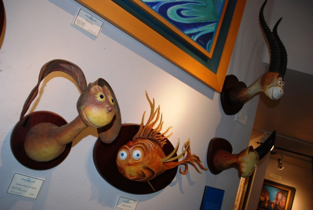 Secret Art of Dr. Seuss at Legends Gallery, La Jolla includes Unorthodox Taxidermy