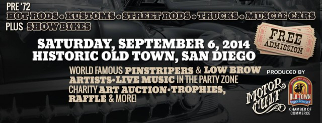 Fiesta de Kustom Kulture - Car, Bike & Low Brow Art Show