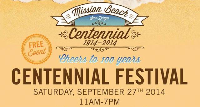 Mission Beach Centennial Festival