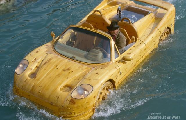 Ripley's Ferrari Boat