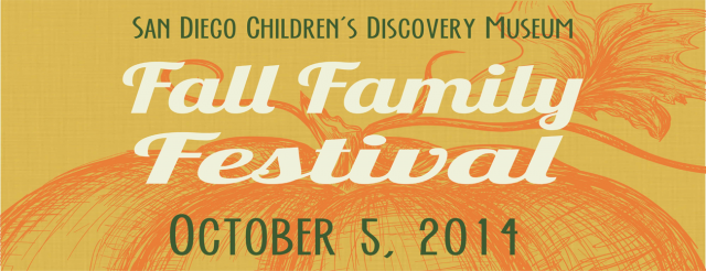 San Diego Children's Discovery Museum Fall Festival