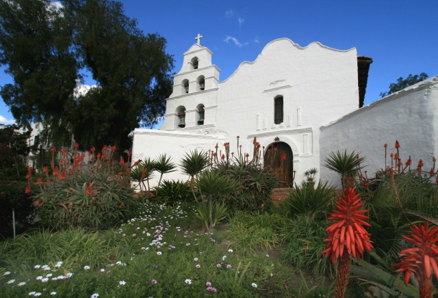Take a trip back in time at Mission San Diego