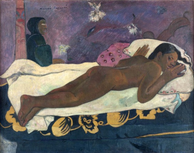 Spirits of the Dead Watching by Paul Gauguin, 1892