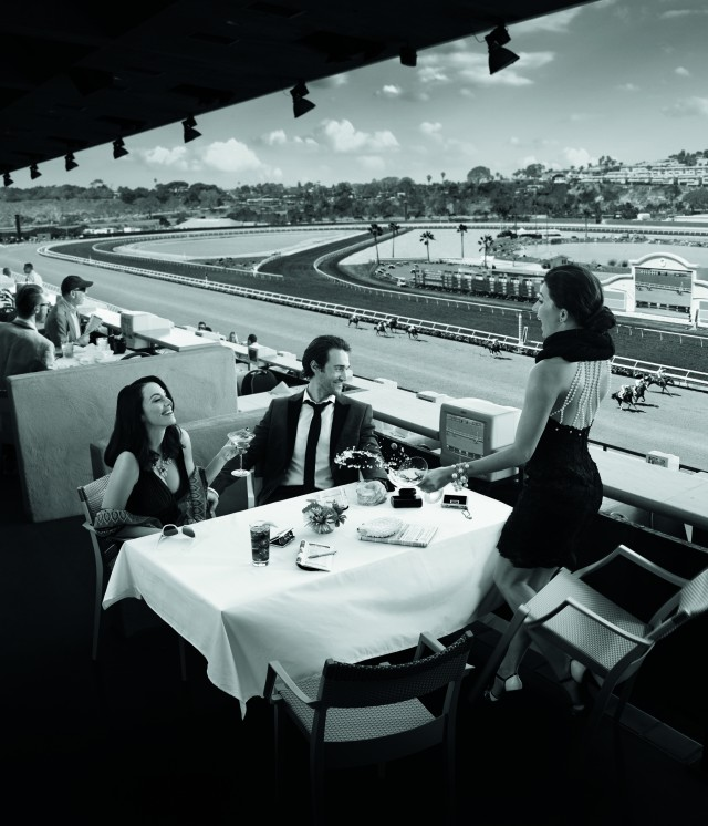 Table at Fall Season courtesy Del Mar Thoroughbred Club