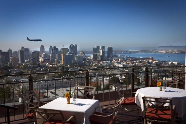 Bertrandu0027s At Mister Au0027s Patio. Bertrand At Mister Au0027s Ranks As San Diegou0027s  Best Penthouse Restaurant.