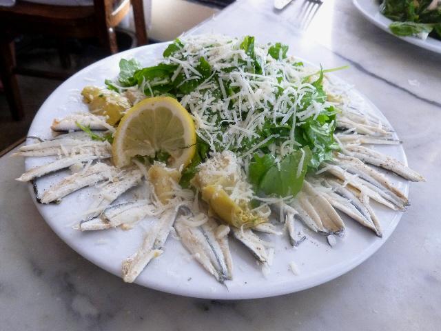 Buona Forchetta Anchovy Salad