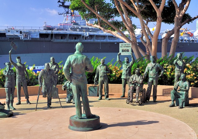 Bob Hope Memorial - San Diego's Embarcadero