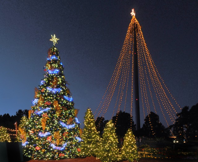 Twinkling Holiday Skytower at SeaWorld