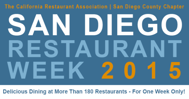 San Diego Restaurant Week 2015 - Top Things to Do