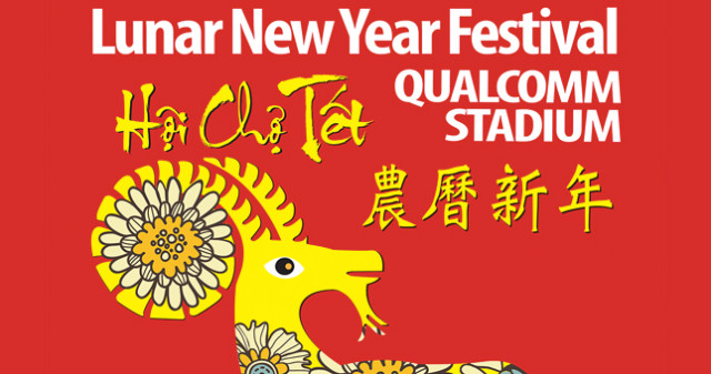 Lunar New Year Festival at Qualcomm Stadium