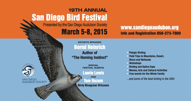 19th Annual San Diego Bird Festival
