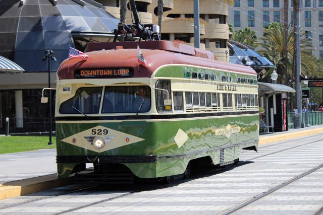San Diego Silver Line Car